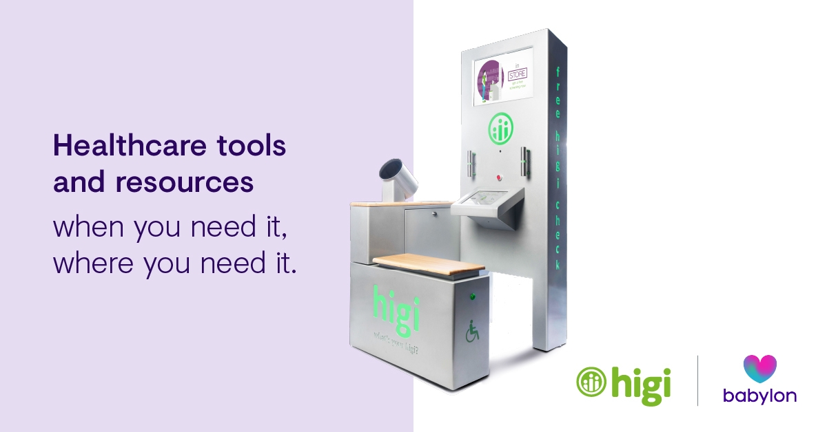 Healthcare tools when you need it, where you need it by Babylon and Higi