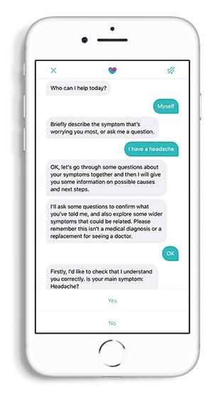 Chatbot Phone Flat