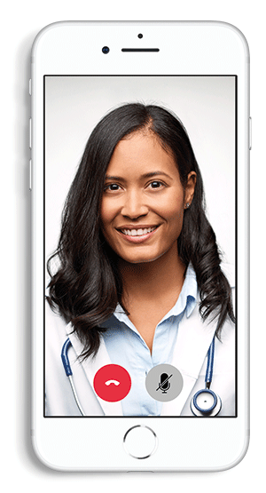Doctor On Phone Flat