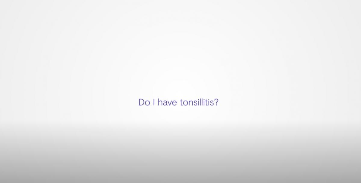NO ALT TEXT tonsilitus